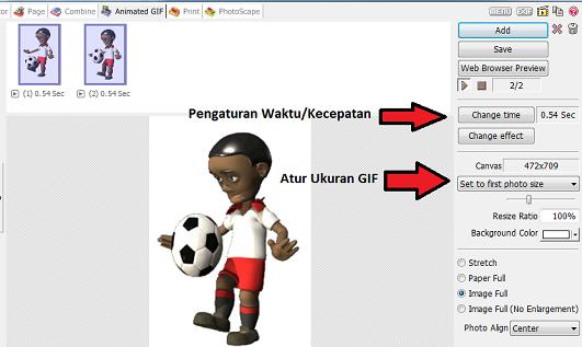 Cara membuat gambar animasi bergerak online untuk presentasi.