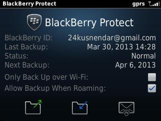 BlackBerry Protect Aktif