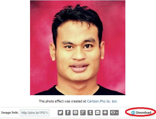download karikatur wajah sendiri