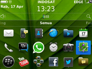 Aplikasi GPS Maps BlackBerry