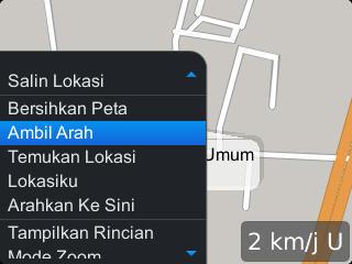 Ambil arah GPS