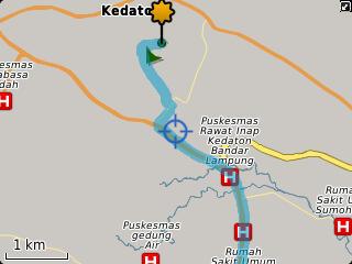 Menemukan lokasi dengan GPS BlackBerry