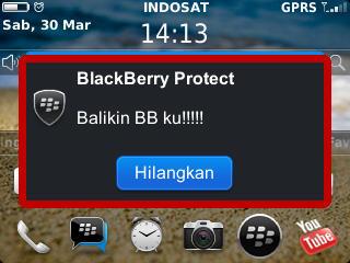 Pesan Khusus BlackBerry