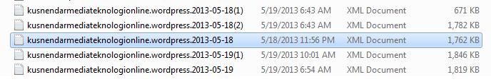 File backup artikel blog wordpress