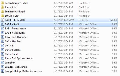 File sembuh dari 9Kb