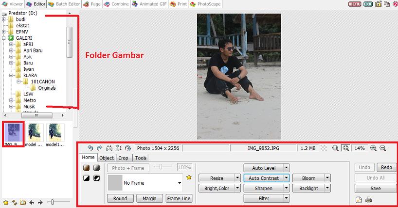 Cara edit foto photoscape 92