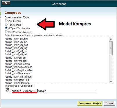 kompress data backup blog