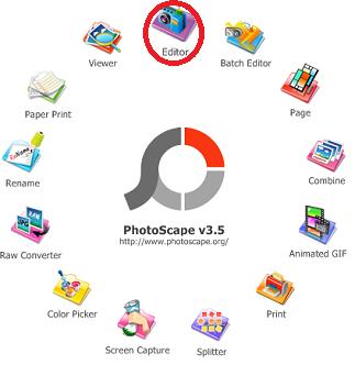 Cara edit foto photoscape