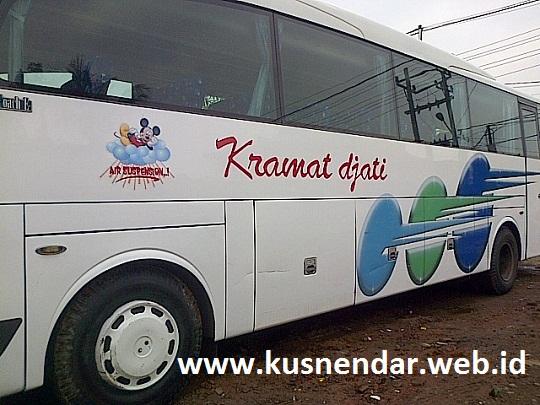 Bus Kramat Djati Pringsewu - Bandung
