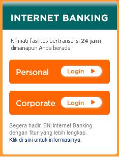 cara mengaktifkan internet banking BNI