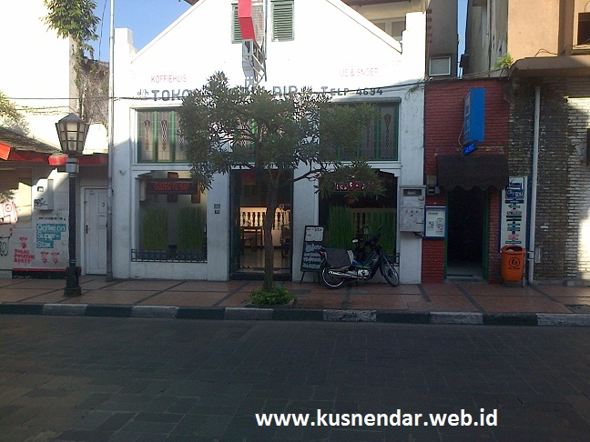 Bangunan Tua di Jalan Braga