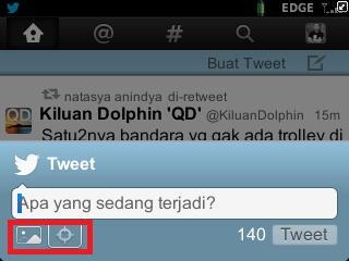 Cara Men-tweet