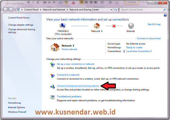 how to create homegroup network in windows 7