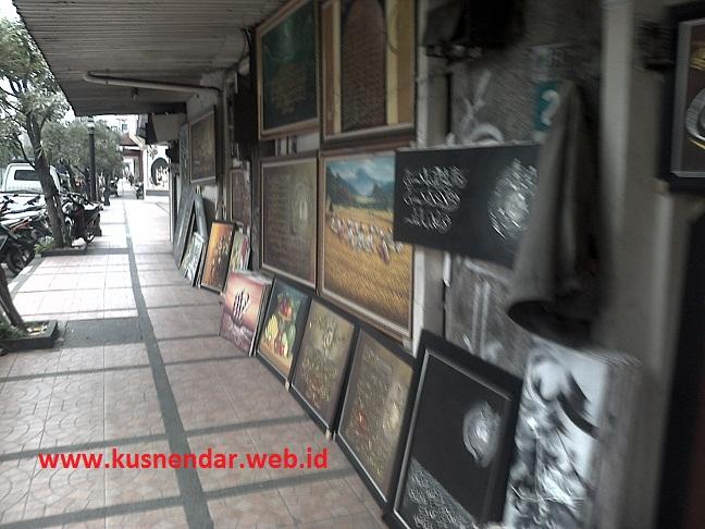 Lukisan di Jl Braga