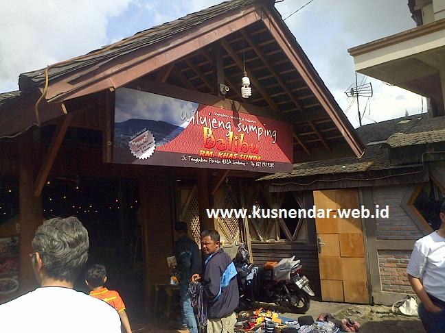 Rumah Makan Balibu, Lembang -Bandung