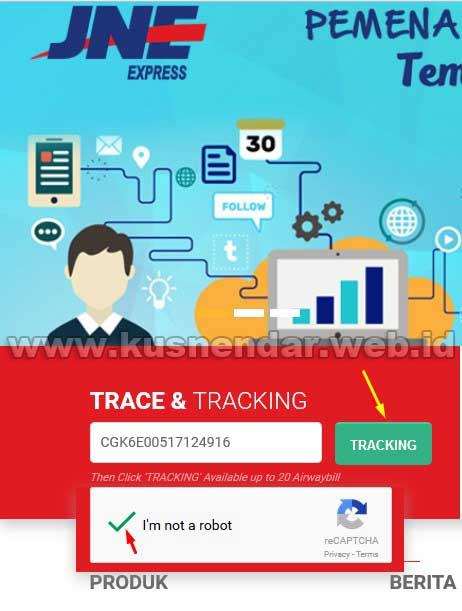 Tracking Paket JNE