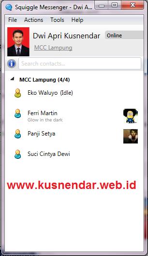aplikasi Chat LAN Komputer