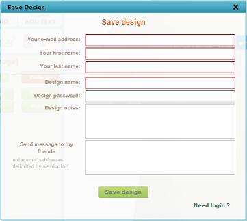 desain kaos ke email