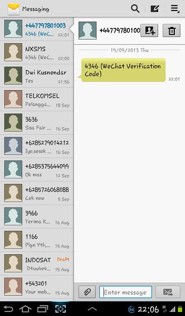 Daftar dan Buat ID WeChat_3