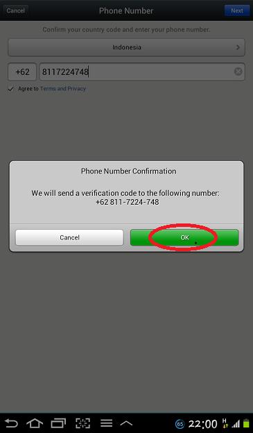 Daftar dan Buat ID WeChat_4