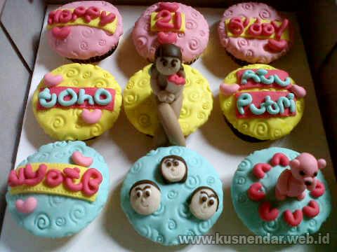 contoh cupcake ultah