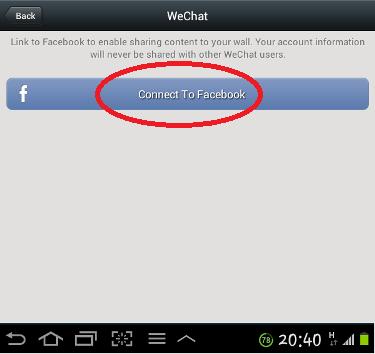 Connect WeChat ke FB_4