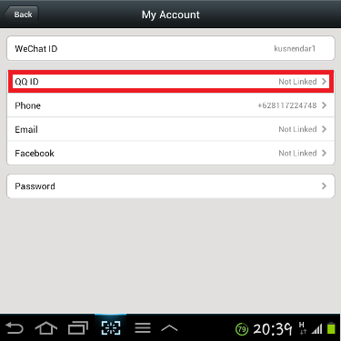 Wechat qq for sign id up How to