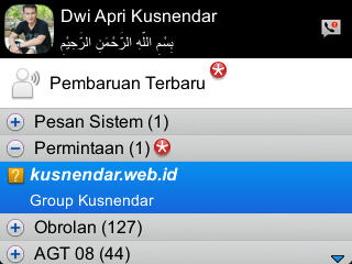 Invite Grup BBM Android