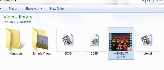 ... Membuat Video dari Kumpulan Foto di Windows Movie Maker | Kusnendar
