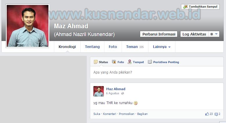 Nama Profil Facebook Berubah
