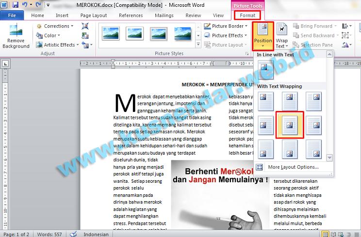 Membuat Format Layout Majalah Koran Di Microsoft Word Kusnendar