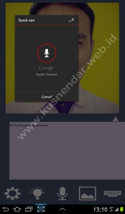 speaking aplikasi android