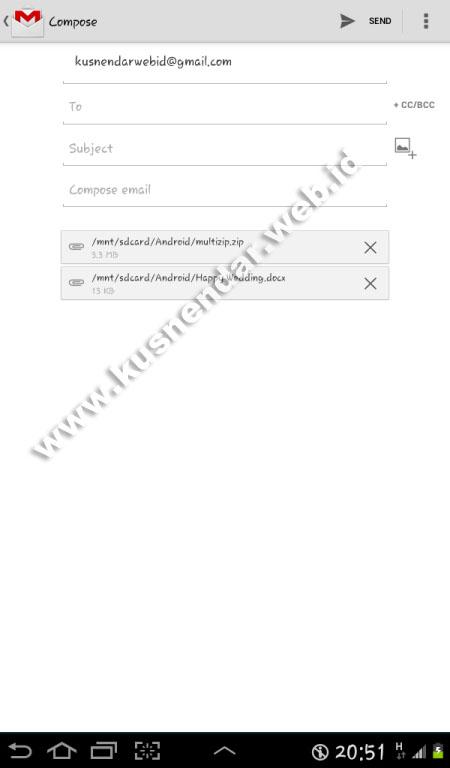 Cara Kompres File dan Dikirim Melalui Aplikasi Email ...