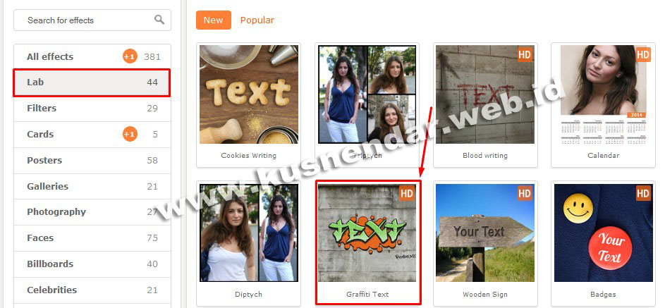 membuat graffiti online sendiri