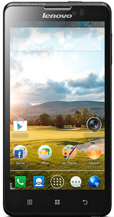 Lenovo P780 HP Khusus Game Android