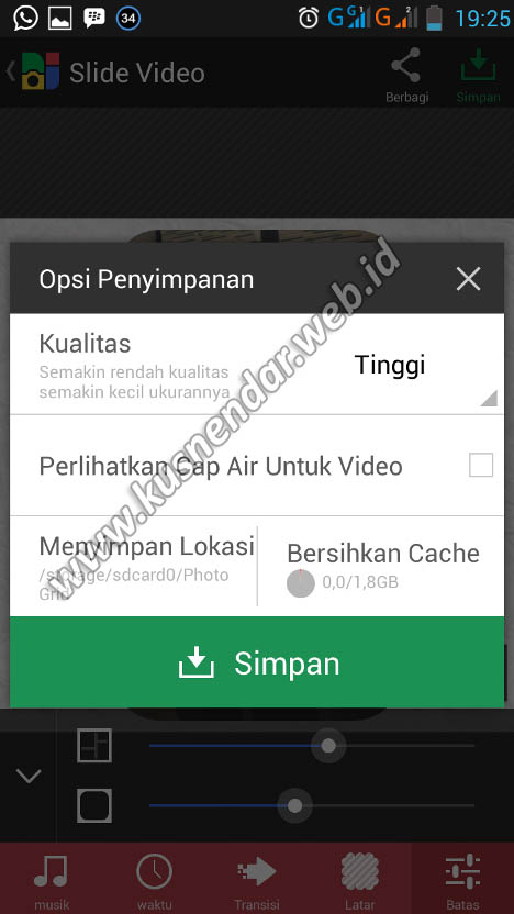 save foto jadi video