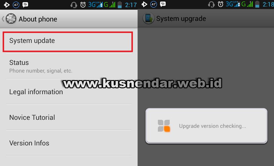 Cara Upgrade Otomatis Android Jelly Bean ke KitKat di Lenovo | Kusnendar