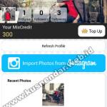 Cara mengganti foto profil dan cover di aplikasipicmix