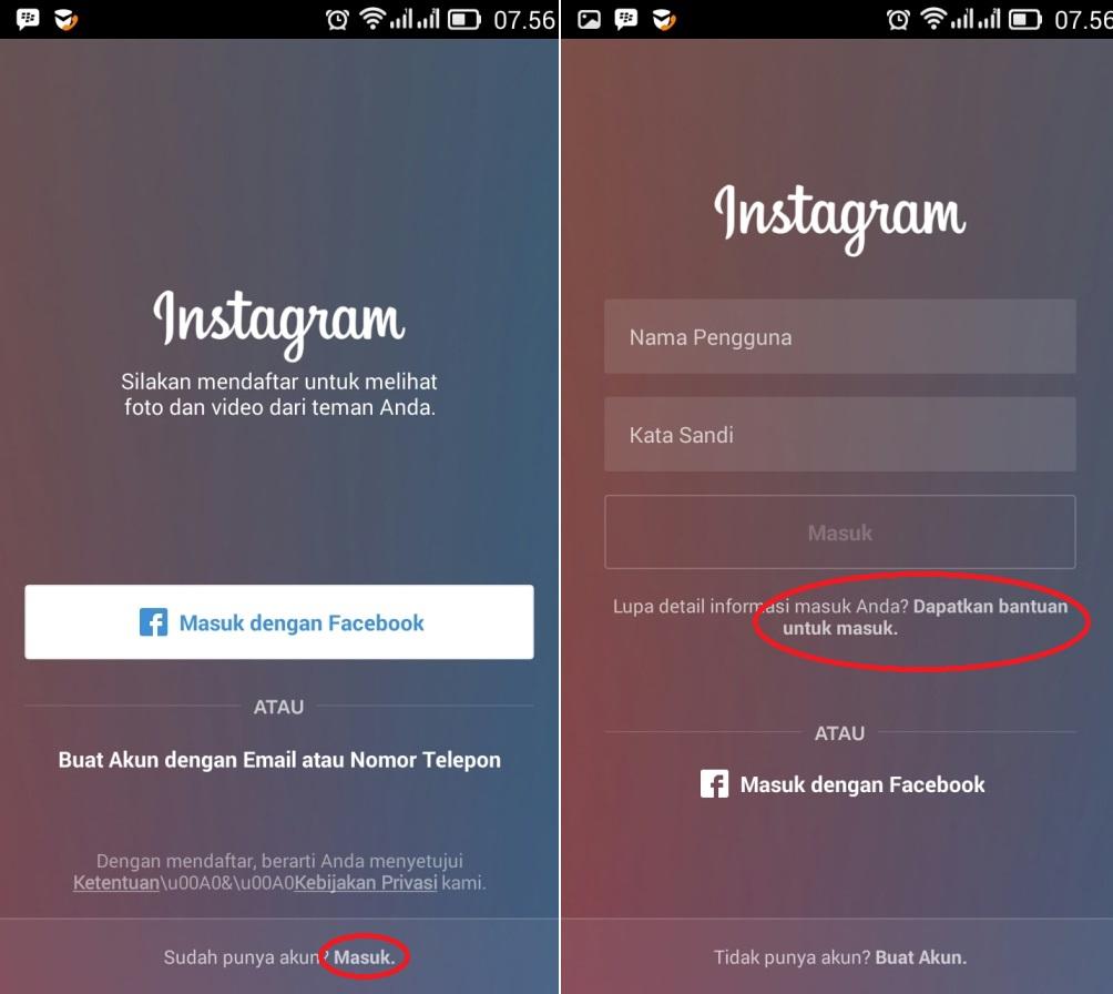 Cara reset password Instagram Terbaru
