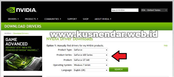 Download dan Cara Update Driver VGA nVidia ke Versi Terbaru