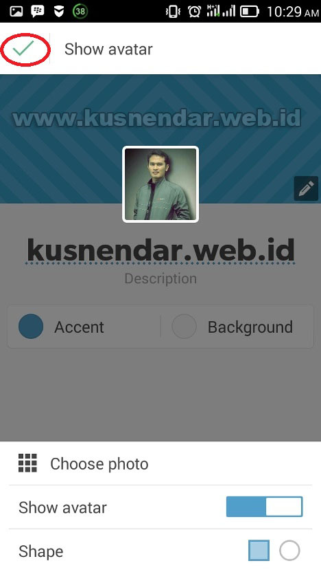 edit profil akun tumblr
