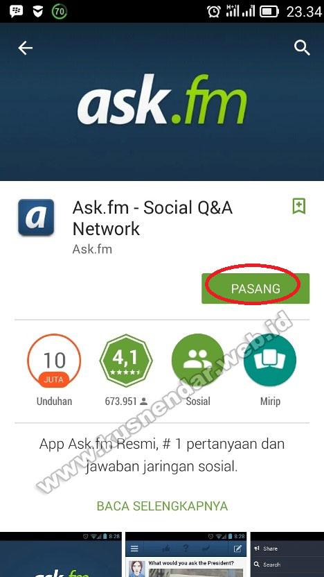 install aplikasi ask