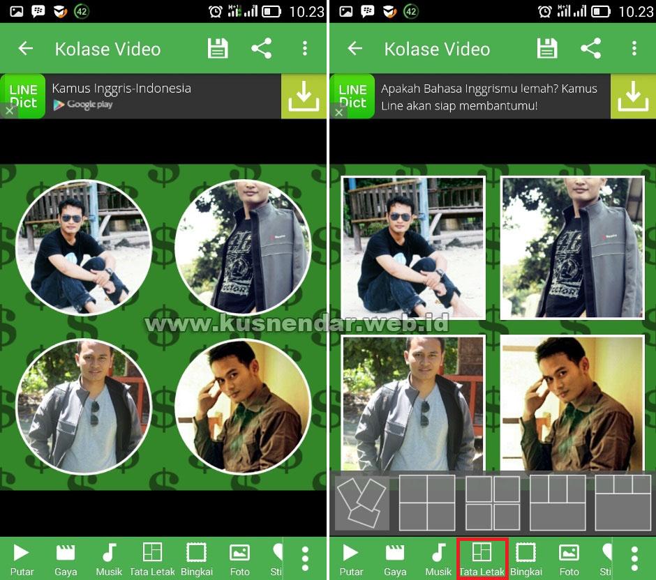 Aplikasi Kolasi Video Android Bagian Tiga