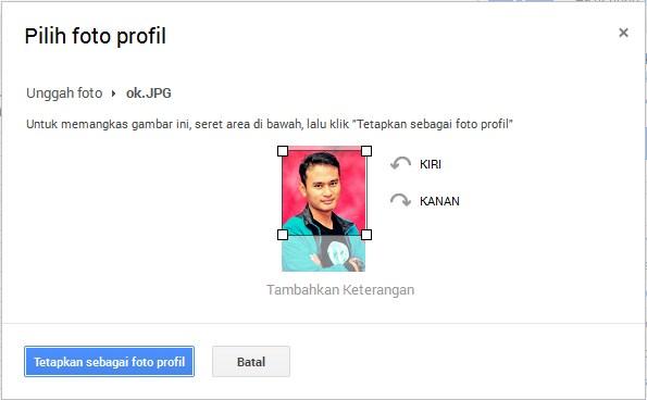 crop foto di google