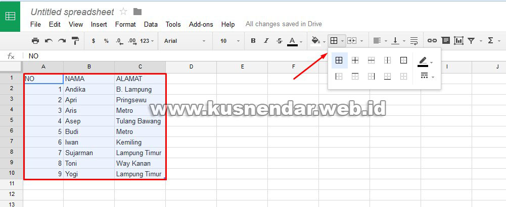 how to open excel files in google docs