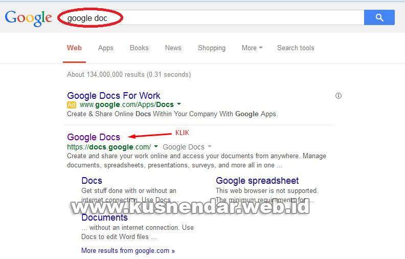 search google doc
