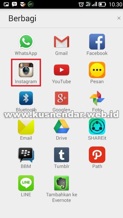 share video foto