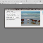 Import Video to Layer di Photoshop