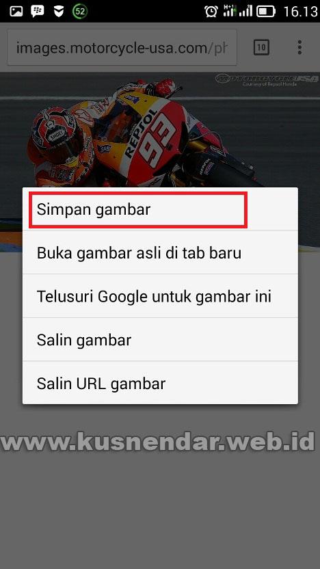 Cara Download Gambar Dari Google Internet Lewat Hp Android Beresolusi Tinggi Kusnendar