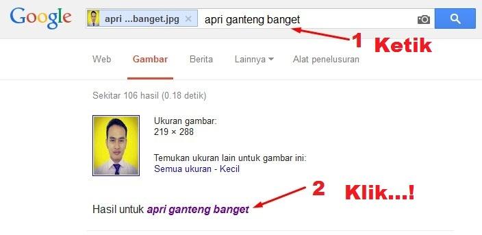 Kata Upload Foto ke Google Image